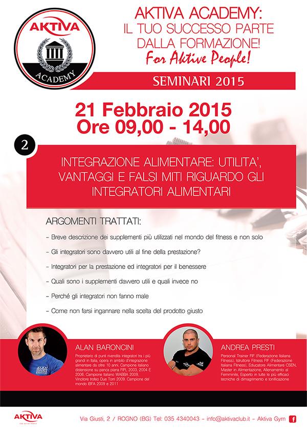 Aktiva locandina seminario 2015