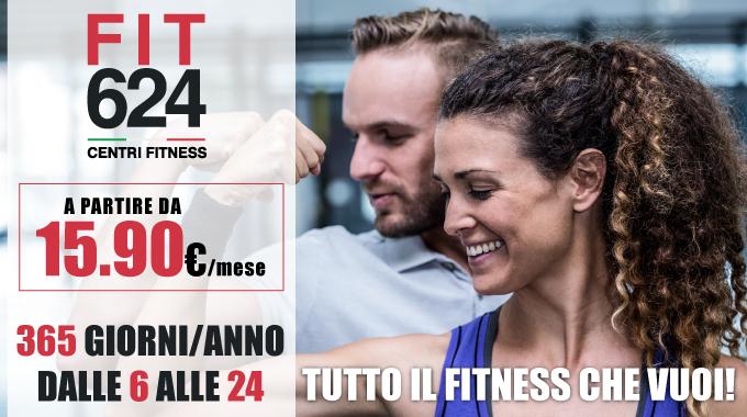 News FIT624 Bergamo Promozione abbonamneto da € 15,90 al mese