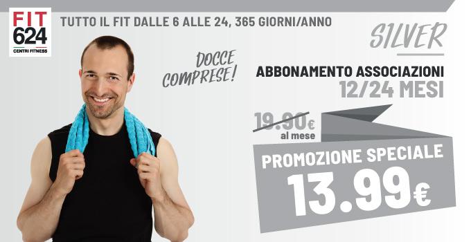 FIT624 Bergamo ABBONAMENTO Silver Esclusivo Per Le Associazioni