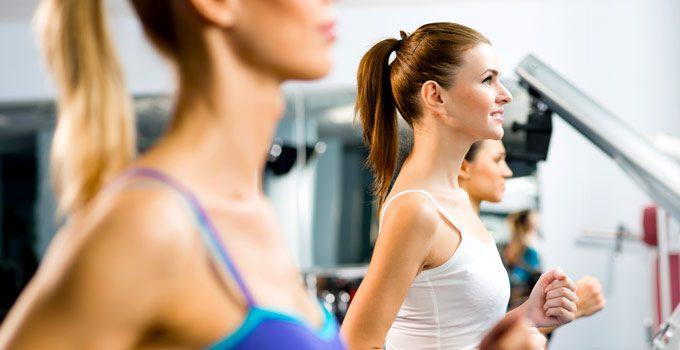 Alimentazione E Fitness Perfetti Per L'inizio Dell'autunno