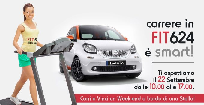 FIT 4 Smart. Corri E Vinci Con FIT624 Bergamo!