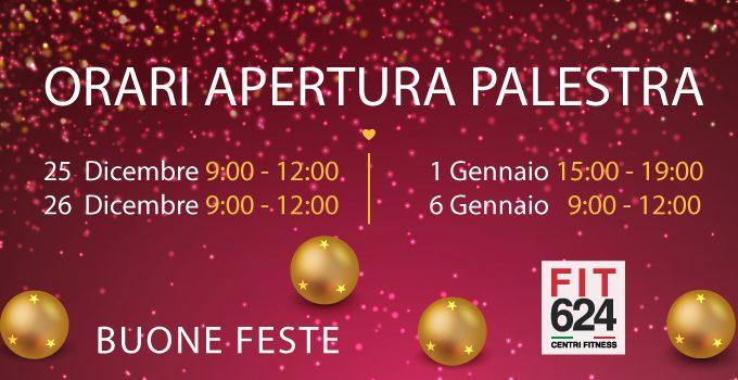 Orari Festività Natalizie FIT624 Bergamo