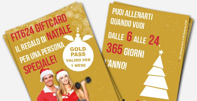Acquista La Gift Card Di FIT624 Bergamo E Fai Un Regalo Speciale All'insegna Del Fitness!