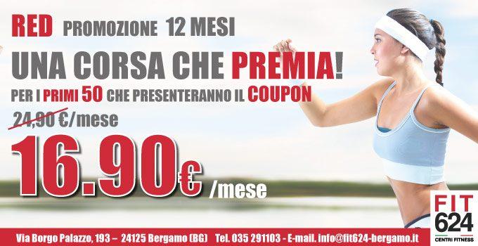 Non Ti Sei Ancora Iscritto In FIT624 Bergamo? Affrettati E Approfitta Dell'imperdibile Promo!