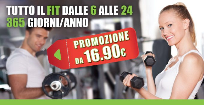 Fitness Vantaggioso Con La Promozione Settembre Di FIT624 Bergamo