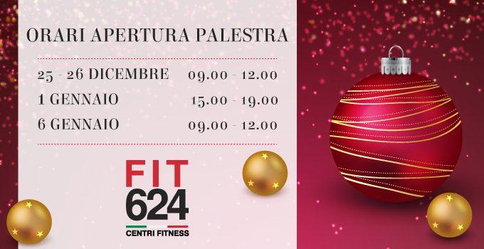 FIT624 Bergamo: Orari Festività Natalizie 2017-2018
