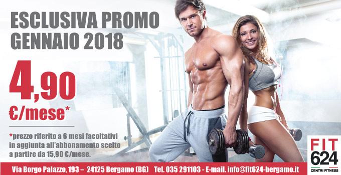 Fit624 Bergamo promo Gennaio 2018