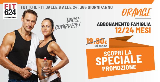 FIT624 Bergamo ABBONAMENTO Orange Esclusivo Per Le Famiglie