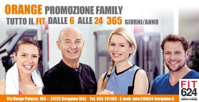 FIT624 Promozione Orange: Fitness Per Tutta La Famiglia