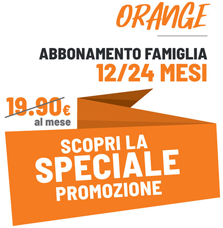 FIT624 Bergamo Promo Orange per le Famiglie