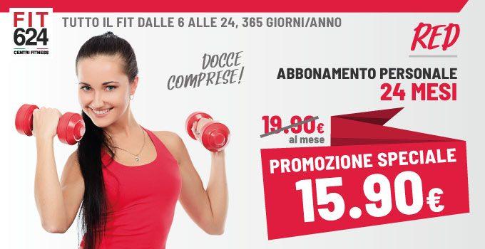 FIT624 Bergamo Promozione Abbonamento RED 24 Mesi