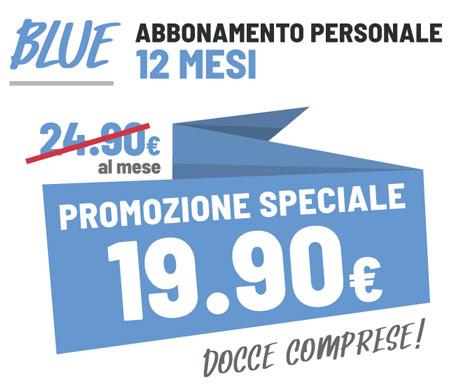 FIT624 Bergamo Via Borgo Palazzo 193 Promo Blue 12 Mesi