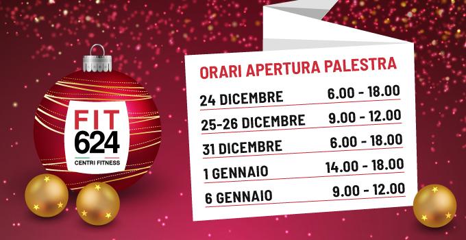 FIT624 Bergamo: Orari Festività Di Natale 2018-2019