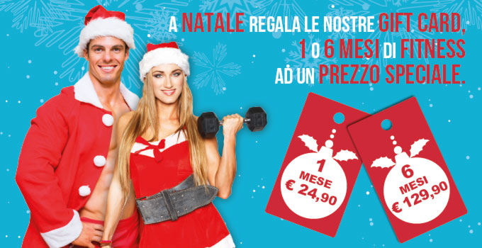Palestra FIT624 Bergamo Gift Card Natale
