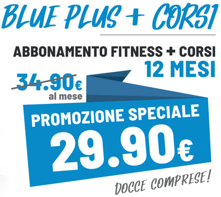 FIT624 Bergamo Ponte San Pietro Promozione 12 Mesi RED Plus Fitness e Corsi