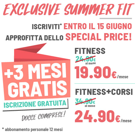FIT624 Bergamo PROMO EXCLUSIVE SUMMER FIT