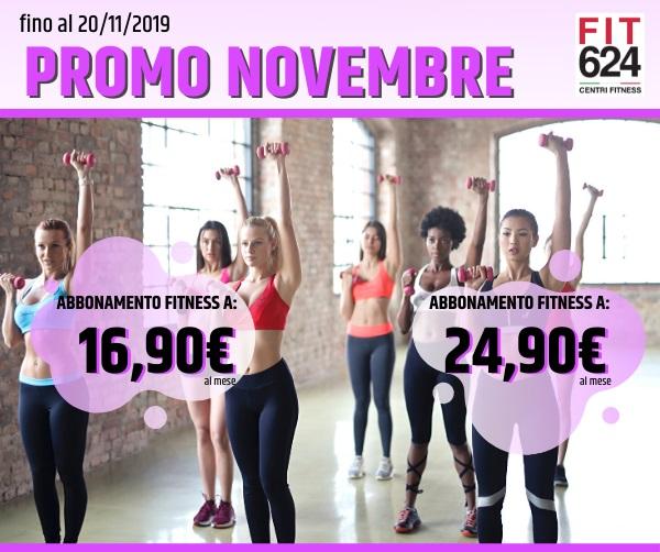 FIT624 Bergamo Promo Novembre 2019 News