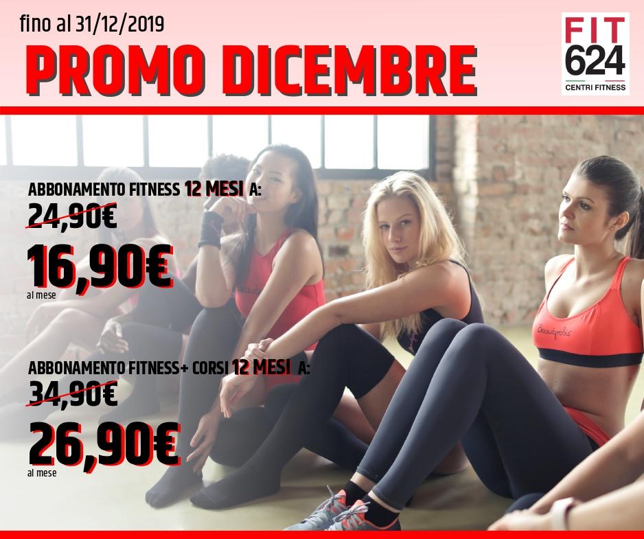 FIT624 Bergamo Promo Dicembre 2019 Promo