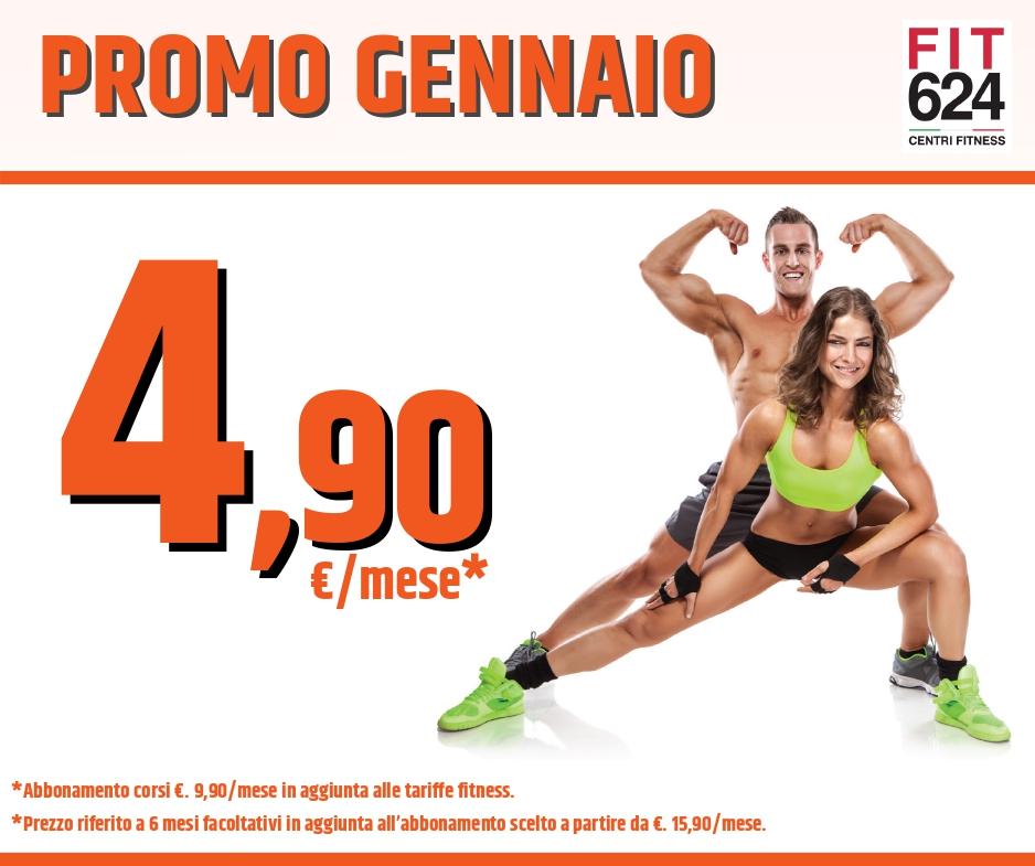 FIT624 Bergamo Promo Gennaio 2020 Ponte San Pietro
