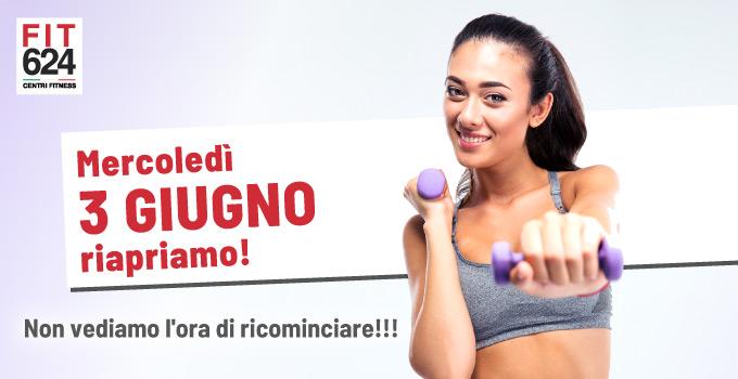 FIT624 Bergamo Riapertura 3 Giugno 2020