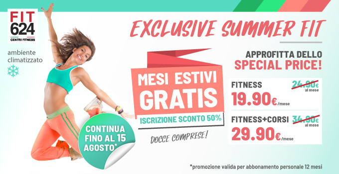 FIT624 Bergamo PROMO Exclusive Summer Fit Agosto