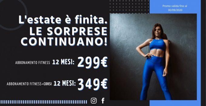 FIT624 Ponte San Pietro Promo Settembre 2020