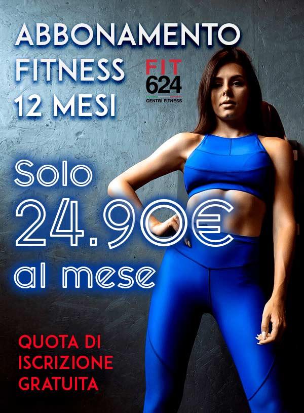 Abbonamento Fitness 12 Mesi – Promo Iscrizioni Online