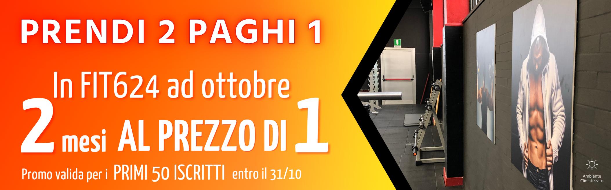 FIT624 Bergamo Promo Ottobre 2021 Fine Mese